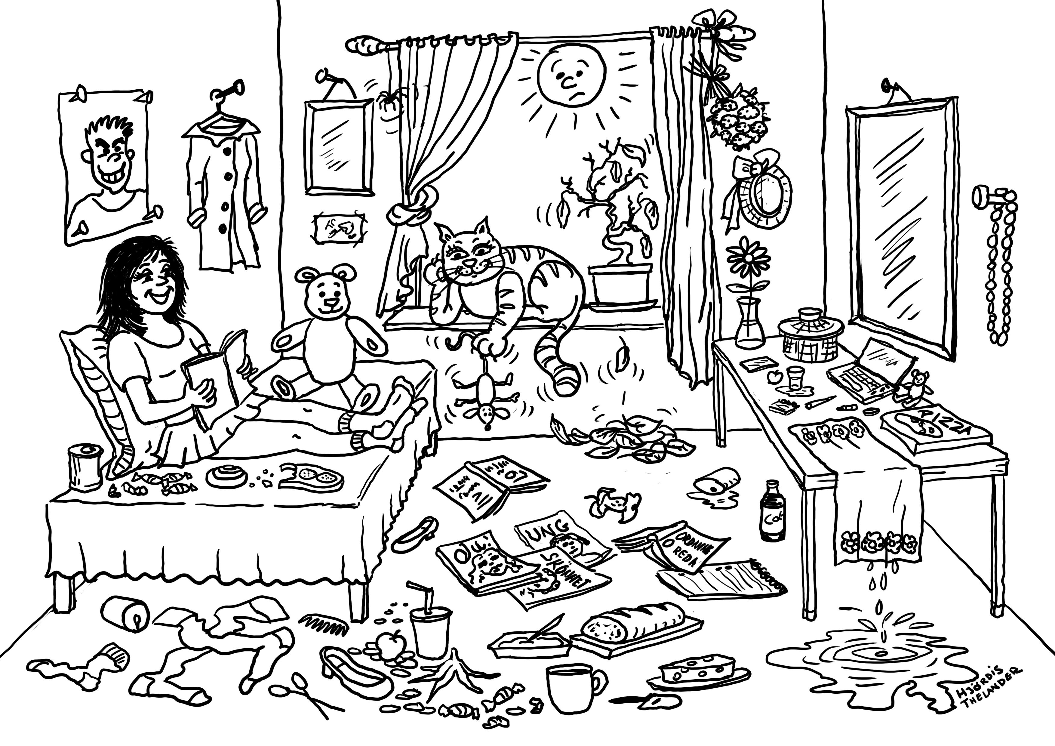 Boken Tonårsdöttrar, författare Jan Thelander